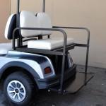 Rear flip seat (up)